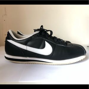 Nike Men's Cortez Leather Black
